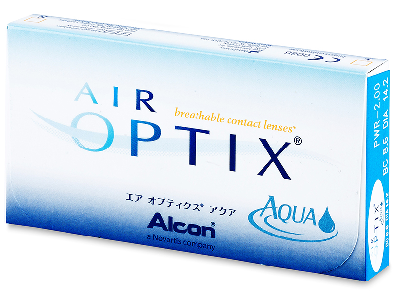 Air Optix Aqua (3 lenti) - Precedente e nuovo design