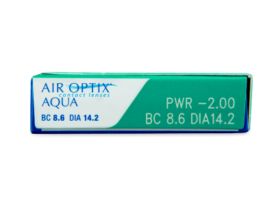 Air Optix Aqua (3lenti) - Caratteristiche generali