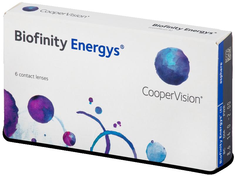Biofinity Energys (6 lenti) - Contact lenses