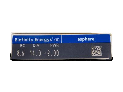 Biofinity Energys (6 lenti) - Caratteristiche generali