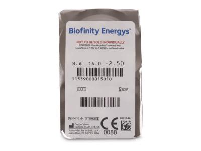 Biofinity Energys (6 lenti) - Blister della lente