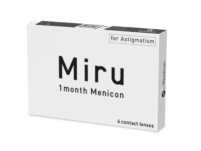 Miru 1 Month Menicon for Astigmatism (6 lenti) - Precedente e nuovo design