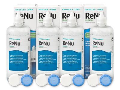 Soluzione ReNu MultiPlus 4x360ml  - Precedente e nuovo design