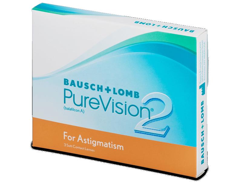 PureVision 2 for Astigmatism (3lenti) - Lenti a contatto toriche
