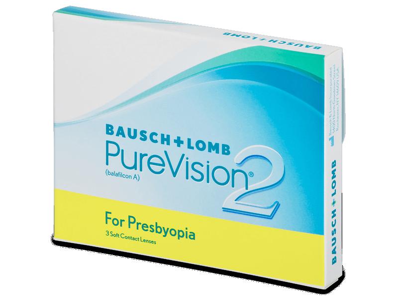 PureVision 2 for Presbyopia (3lenti) - Lenti a contatto multifocali