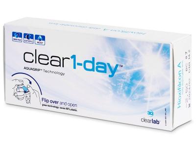 Clear 1-Day (30lenti) - Lenti a contatto giornaliere