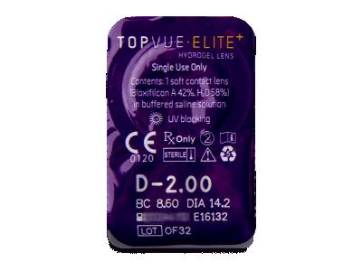 TopVue Elite+ (10 lenti) - Blister della lente