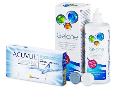 Acuvue Oasys for Astigmatism (6 lenti) + soluzione Gelone 360 ml