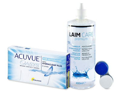 Acuvue Oasys for Astigmatism (6 lenti) + soluzione Laim-Care 400 ml