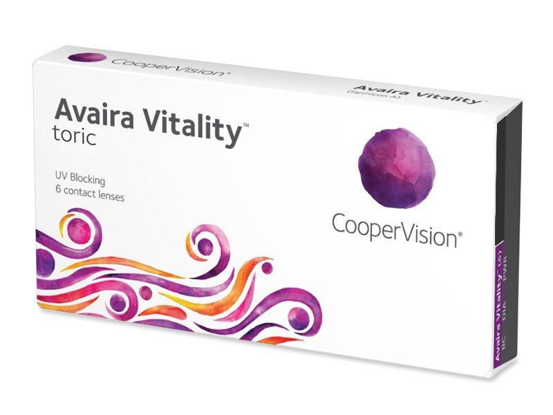 Avaira Vitality Toric (6 lenti) - Lenti a contatto toriche