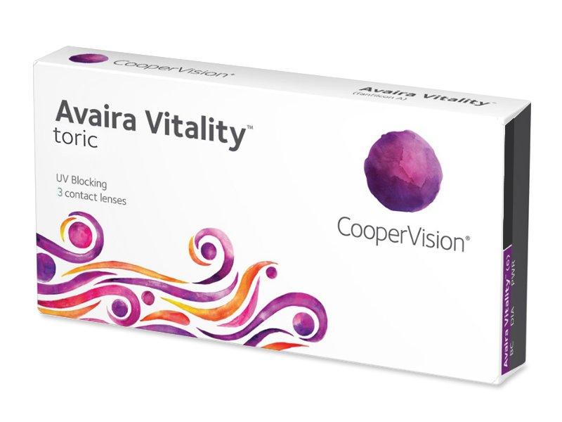 Avaira Vitality Toric (3 lenti) - Lenti a contatto toriche