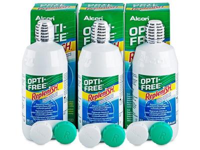 Soluzione OPTI-FREE RepleniSH 3x300ml  - Precedente e nuovo design