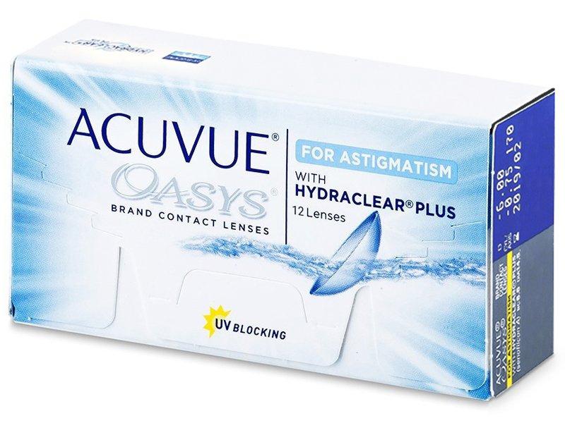 Acuvue Oasys for Astigmatism (12 lenti) - Lenti a contatto toriche