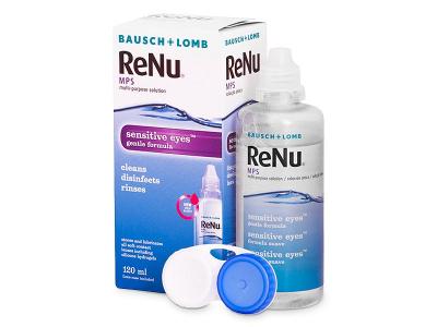 Soluzione ReNu MPS Sensitive Eyes 120 ml  - Precedente e nuovo design