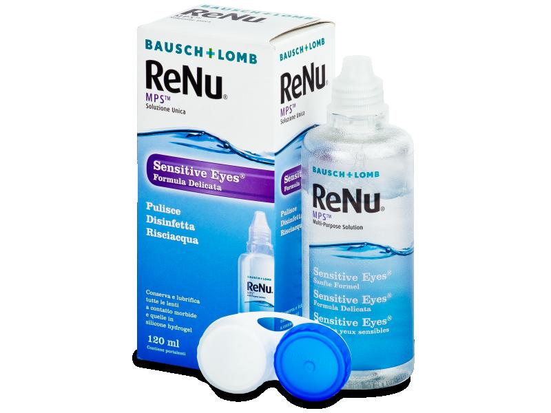 Soluzione ReNu MPS Sensitive Eyes 120 ml  - Soluzione unica