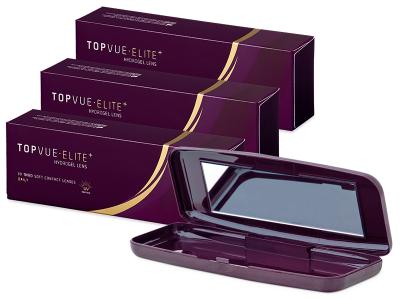 TopVue Elite+ (90 lenti) + Porta lenti TopVue Elite