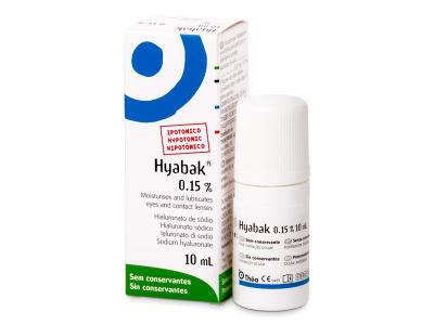 Gocce oculari Hyabak 0.15% 10 ml