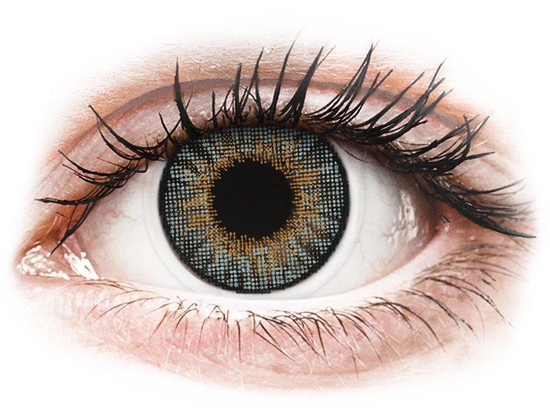 Air Optix Colors - Grey - correttive (2lenti) - Lenti a contatto colorate