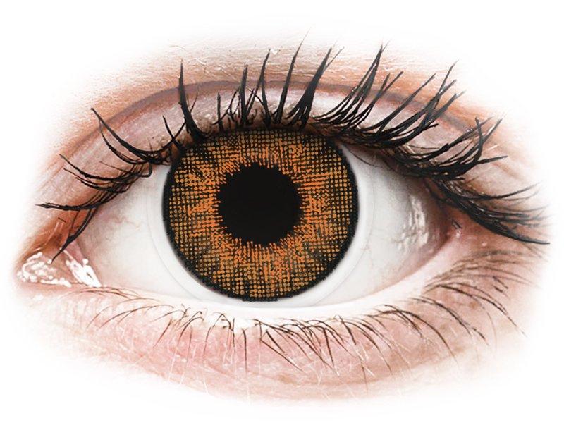 Air Optix Colors - Honey - non correttive (2 lenti) - Lenti a contatto colorate