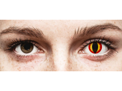 ColourVUE Crazy Lens - Dragon Eyes - non correttive (2 lenti)