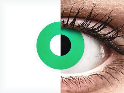 ColourVUE Crazy Lens - Emerald (Green) - non correttive (2 lenti)