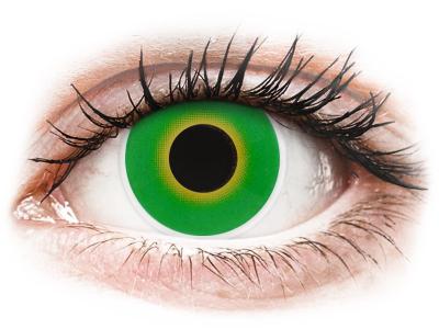 ColourVUE Crazy Lens - Hulk Green - non correttive (2 lenti)
