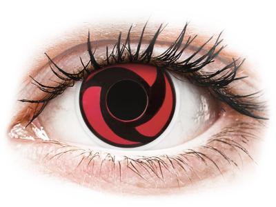 ColourVUE Crazy Lens - Mangekyu - non correttive (2 lenti)