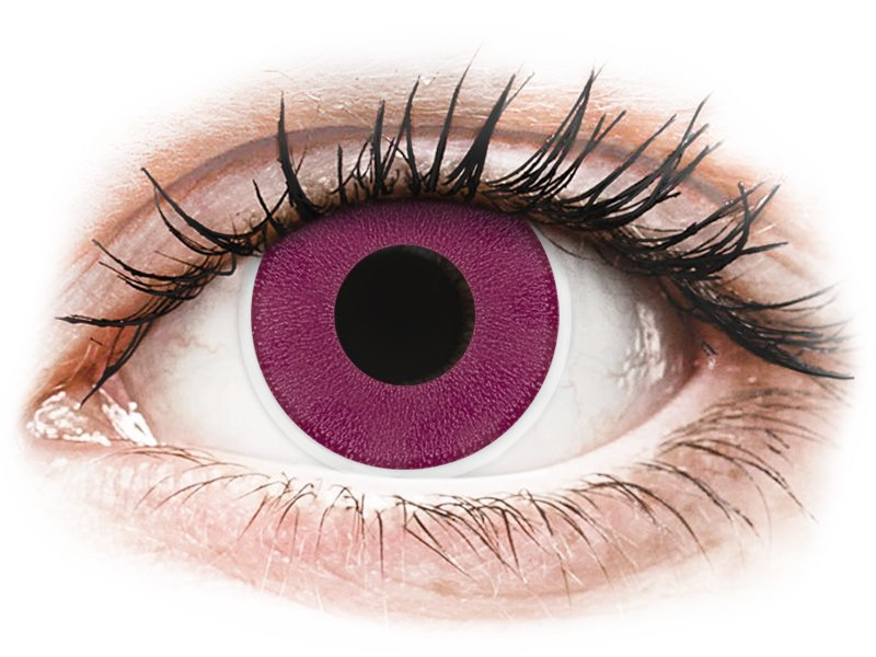 ColourVUE Crazy Lens - Purple - non correttive (2 lenti)