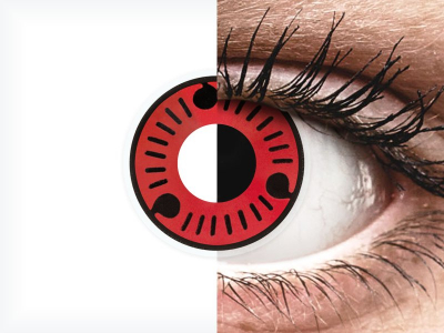 ColourVUE Crazy Lens - Sasuke - non correttive (2 lenti)