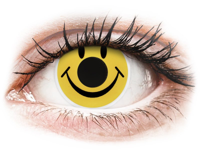 ColourVUE Crazy Lens - Smiley - non correttive (2 lenti)