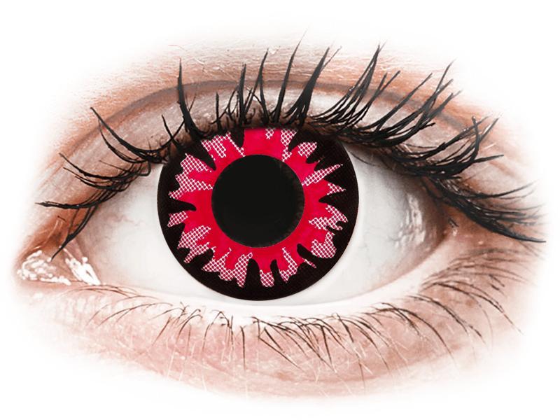 ColourVUE Crazy Lens - Red Volturi - non correttive (2 lenti) - Lenti a contatto colorate