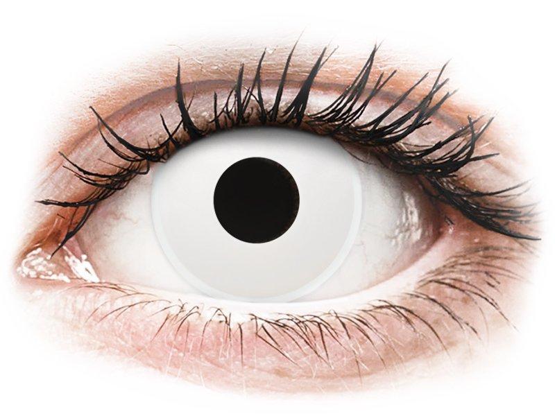 ColourVUE Crazy Lens - WhiteOut - non correttive (2 lenti) - Lenti a contatto colorate