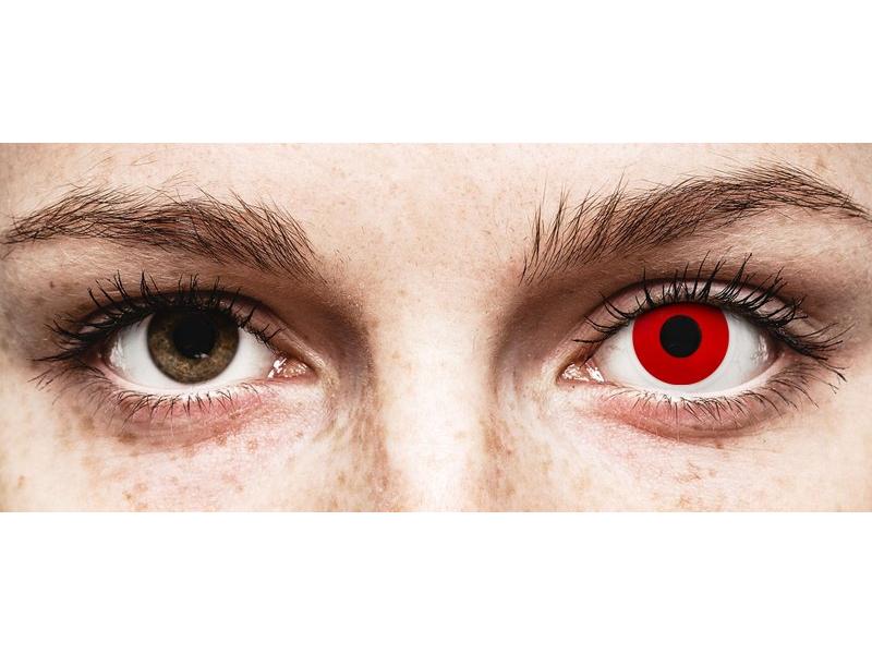 ColourVUE Crazy Lens - Red Devil - correttive (2 lenti)