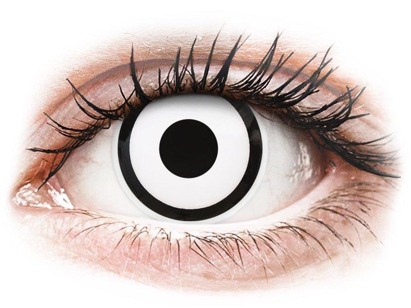 ColourVUE Crazy Lens - White Zombie - correttive (2 lenti)