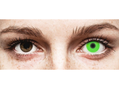 ColourVUE Crazy Glow Green - non correttive (2 lenti)