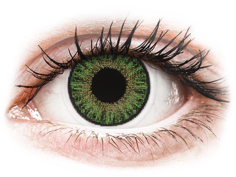 TopVue Color daily - Green - non correttive (10lenti)