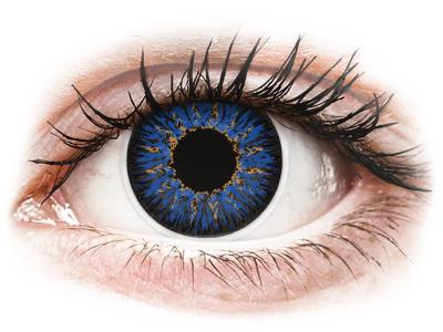 ColourVUE Glamour Blue - non correttive (2lenti) - Lenti a contatto colorate