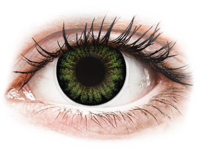 ColourVUE BigEyes Party Green - non correttive (2 lenti)