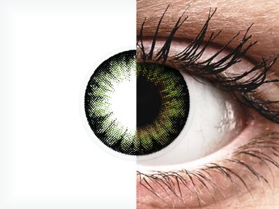 ColourVUE BigEyes Party Green - non correttive (2lenti)
