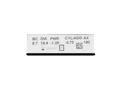 Clariti Toric (6 lenti) - Caratteristiche generali