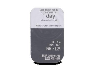 Clariti 1 day (30 lenti) - Blister della lente