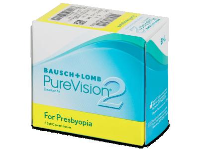 PureVision 2 for Presbyopia (6lenti) - Lenti a contatto multifocali