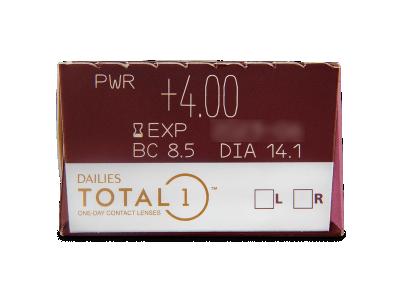 Dailies TOTAL1 (30lenti) - Caratteristiche generali