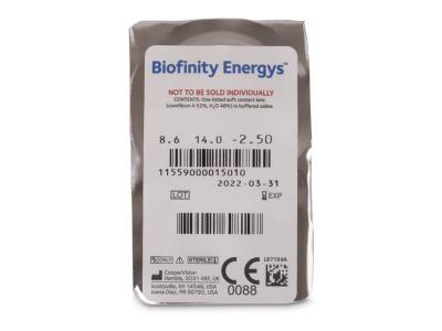Biofinity Energys (3 lenti) - Blister della lente