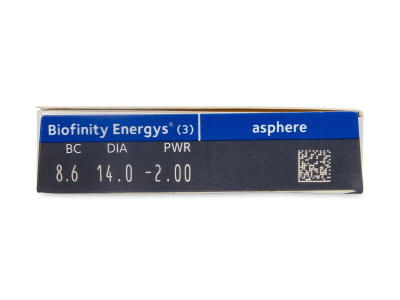 Biofinity Energys (3 lenti) - Caratteristiche generali