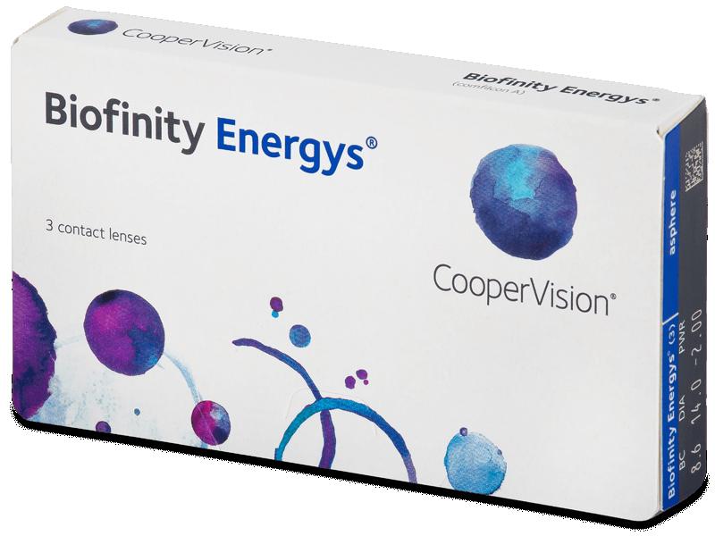 Biofinity Energys (3 lenti) - Lenti a contatto mensili