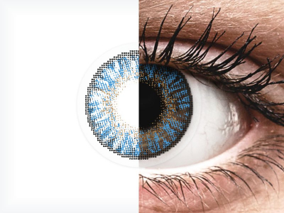 FreshLook ColorBlends True Sapphire - correttive (2 lenti)