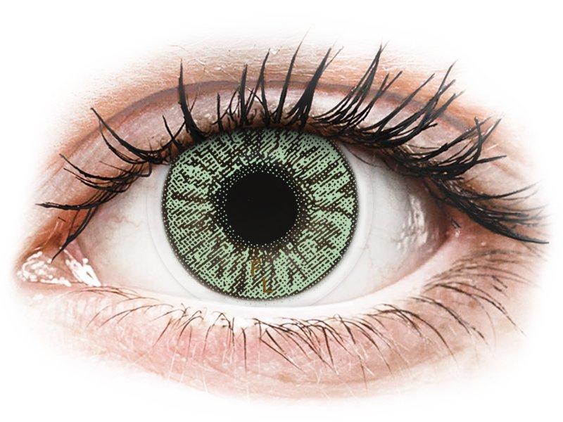 FreshLook Colors Green  - non correttive (2 lenti) - Lenti a contatto colorate