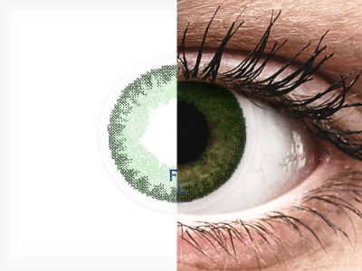 FreshLook Dimensions Sea Green - correttive (6 lenti)
