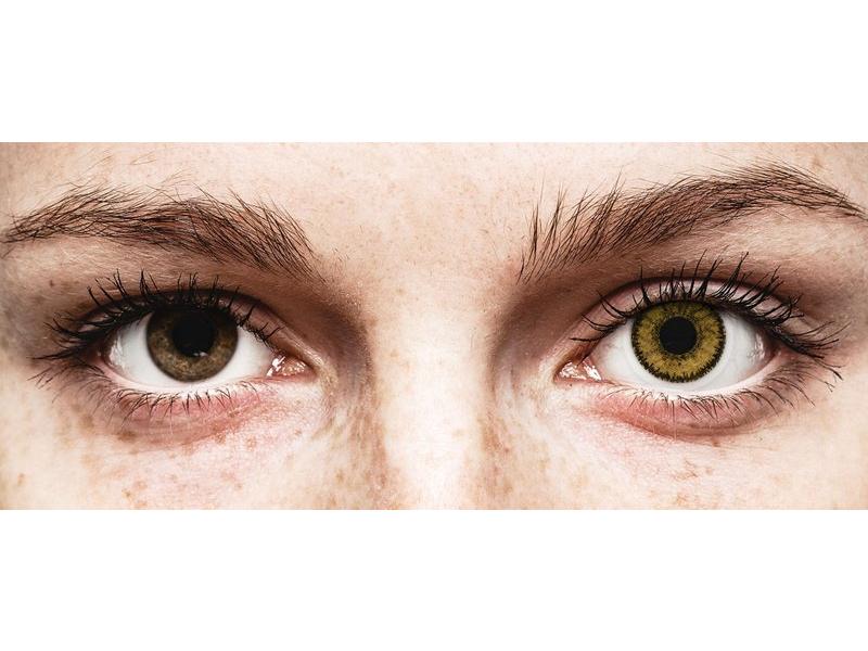 SofLens Natural Colors Dark Hazel - correttive (2 lenti)